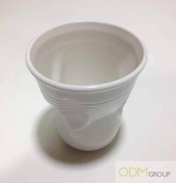 Promotional Ceramics - Ceramic Crinkle Cup
