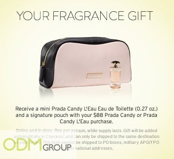 Dress yourself in luxury with Prada's marketing gift!