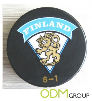 Promotional Product Hockey Puck