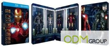 Fulfill Childhood Dreams with Iron Man's Limited Edition 3-Disc Combo Pack