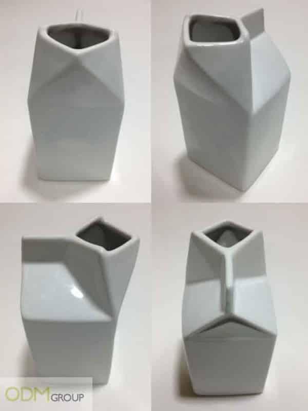 Custom Ceramics - Ceramic Milk Container