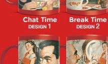 Nescafé vintage Custom Mugs