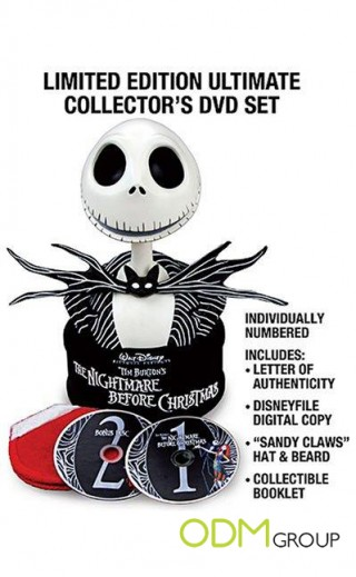 Nightmare Before Christmas DVD Packaging