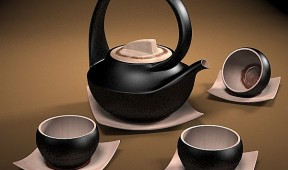 Oriental Promotional Gifts - Tea Set