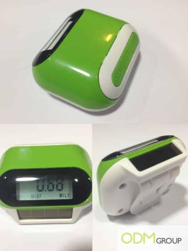 Promo Gift: Solar Pedometer
