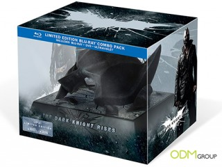 Limited Edition Packaging on Box Set of The Dark Knight Rises