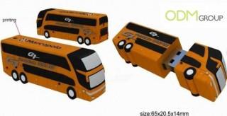 USB stick - Bus Advertising