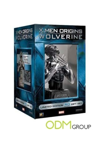 X-Men DVD Packaging Case