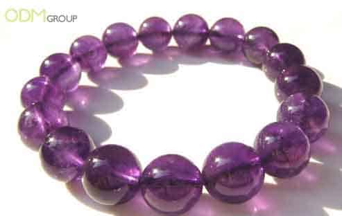 Natural Stones Amethyst Bracelet