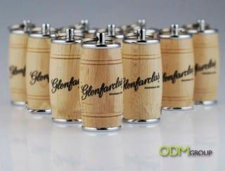 Wooden Beer Barrel USB