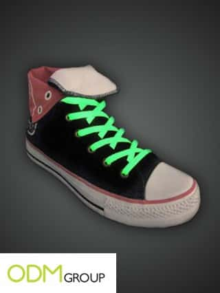 Promotional Product Glow in the Dark Shoelaces