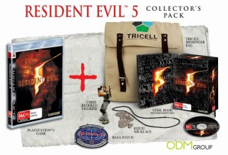 Innovative packaging on Resident Evil 5 Collector's Edition