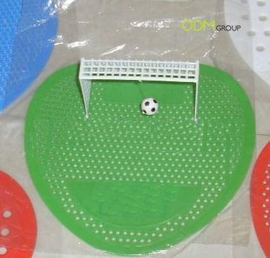 soccer urinal screen