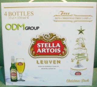 Mini Xmas Tree by Stella Artois
