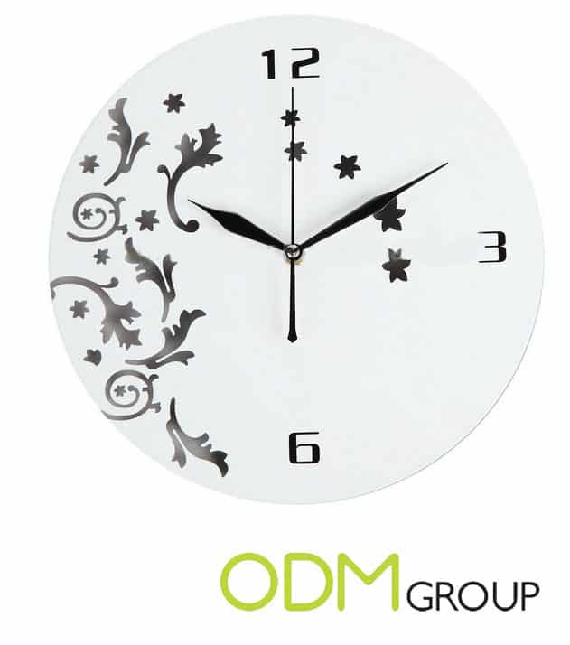 Gift with purchase: wall clock
