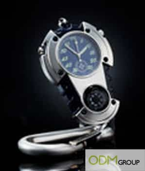 Promotional Gift: Carabiner Watch Compass
