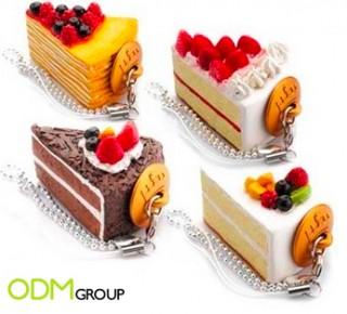 Promotional Gift: Cake USB Key