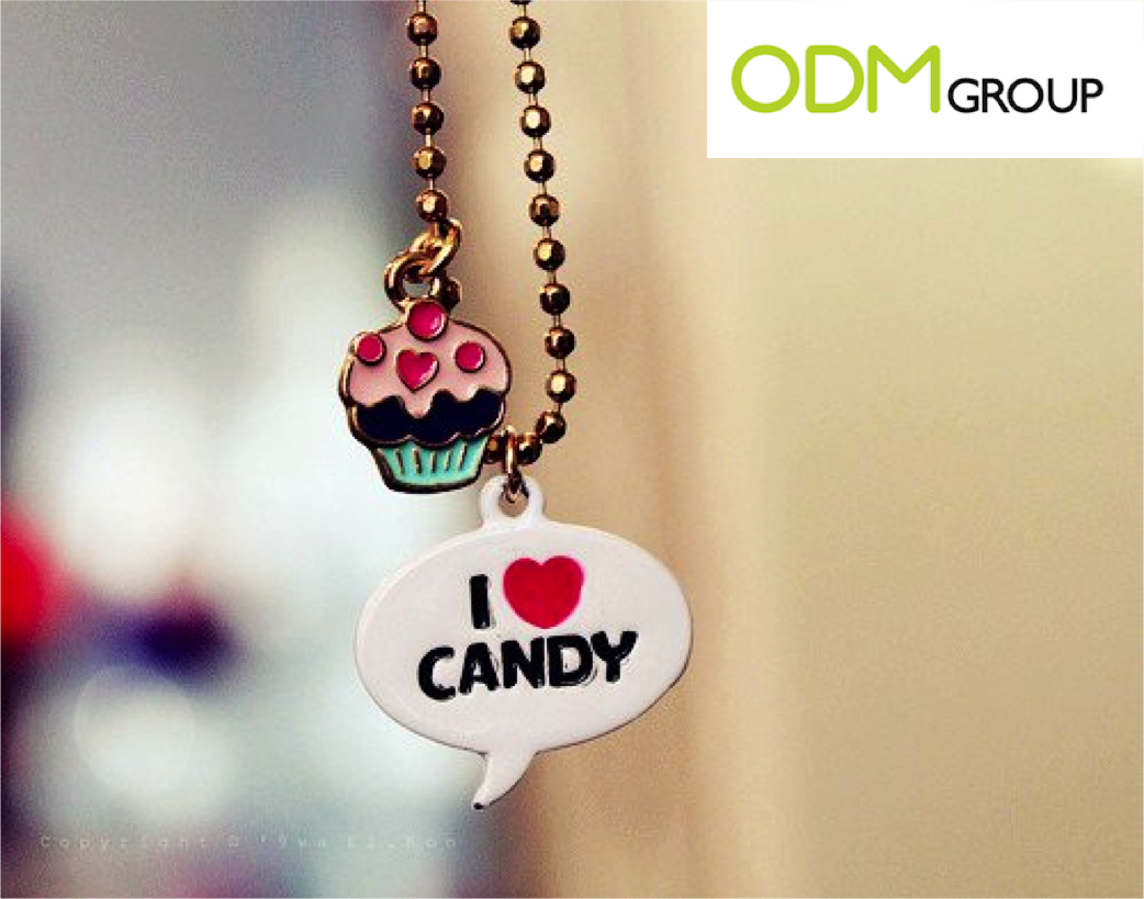 Promotional Item: Candy Keyring