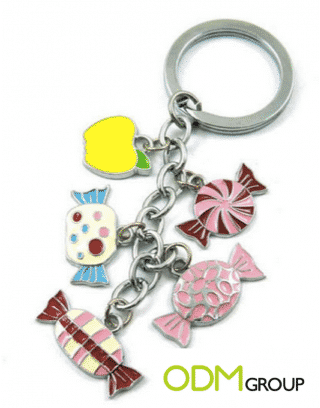 Promotional Gift: Candy Keyring