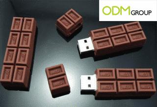 Promotional Products: Chocolate USB Key