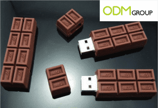Promotional Products: Chocolate USB Key