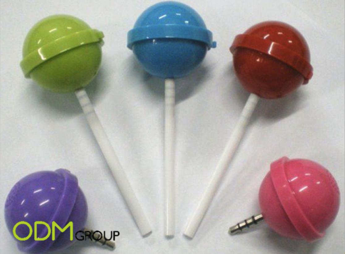 Promotional Gift Ideas: Lollipop Speakers