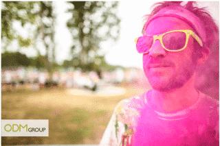 Marketing Product - The Color Run's Sunglasses!
