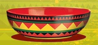 Promotional Bowls - Close Up