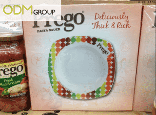 Promotional giveaway: Prego plates