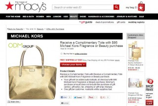 Stunning Custom Tote by Michael Kors