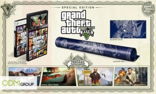 Video Games Grand Theft Auto 5 Limited Edition Package