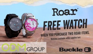 Free Roar Watch as Gift with Purchase