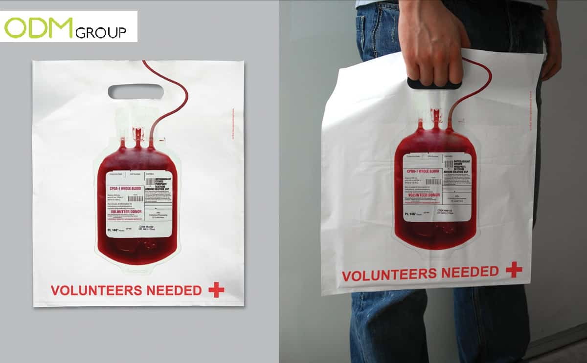 Marketing Tool: Red Cross Shopper Bag