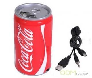 Promo gift idea: Cola speaker