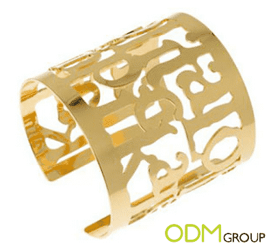 Custom Jewelry Gold Cuff
