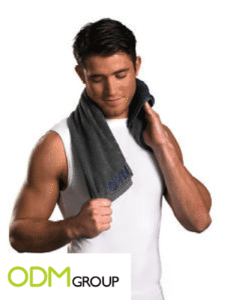 Don't Dirty Your Belongings in the Gym, Use This Cool and Customized Towel