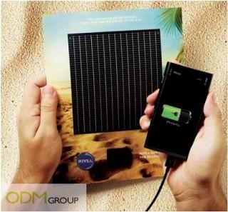 NIVEA Solar chargers