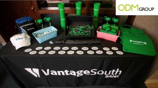 How bank use promotional products?