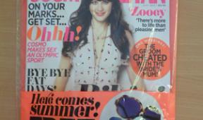 Covermount Gifts: Cosmopolitan