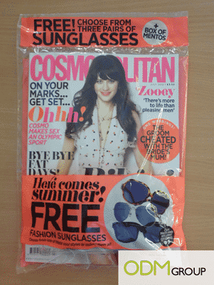 Covermount Gifts: Cosmopolitan