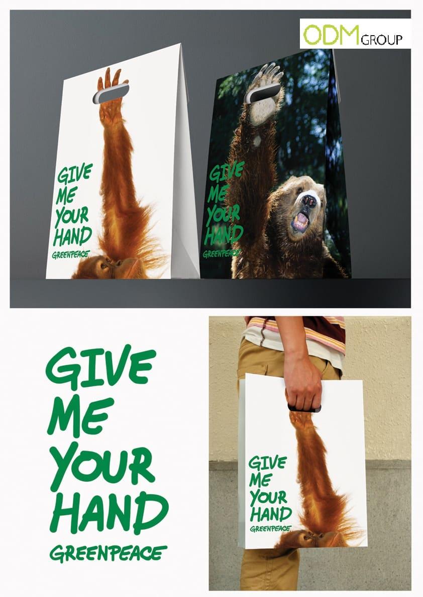 Marketing Tool: Greenpeace Shopper Bag