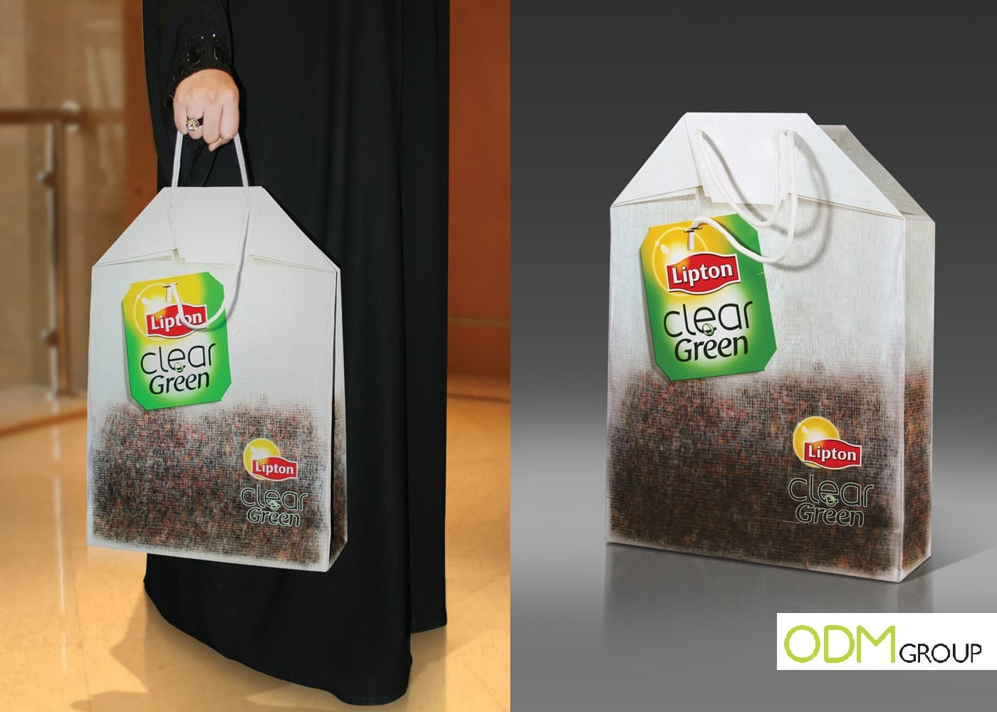 Marketing tool: Lipton Tea Shopper Bag
