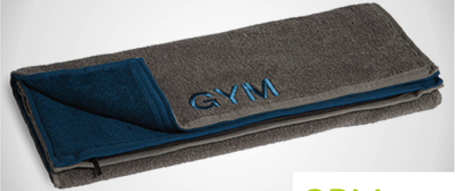 Don't Dirty Your Belongings in the Gym, Use This Cool and Unique Towel
