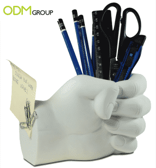 A lot of original stationary items to decorate your office and desk.