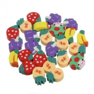 Scented Rubber: Food Promotional Gift
