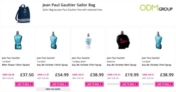Sailor Bag Promotion