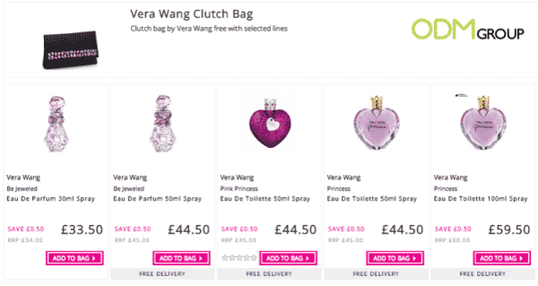 Vera Wang Clutch Bag