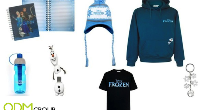 """These """"Frozen"""" promotional products will frost your days!"""