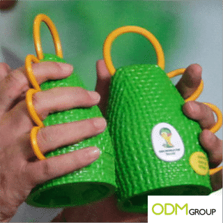 """The """"Caxirola"""" is the new musical instrument for the Fifa World Cup in Brazil; a must have."""