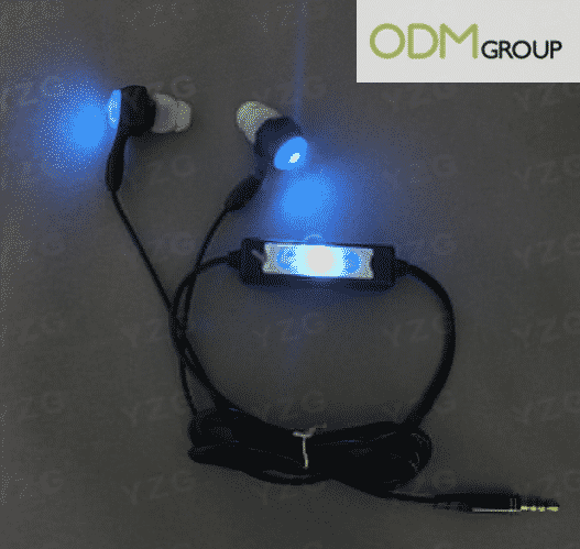 LED Promotional Gift Earpiece